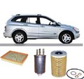 KIT8507  FILTER KIT SsangYong KYRON DIESEL XDI - 2.7L 4CYL TD OM664 4WD - 2006-ON   KYRON XDI - D100 SERIES - 2.0L 4CYL TD OM664 4WD - 2006-ON   STAVIC A100 XDI - 2.7L 5CYL TD DTFI OM665 ENGINE - 2005-ON
