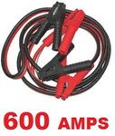 SB600 JUMPER LEAD SET 600AMP WITH ANTI ZAP 3.6M 3.6 METER METRE JUMP CABLE JUMPER CABLE KIT RED BLACK 600A 600AMP JUMPER LEADS 600AMP AUTO KING - Part No. BL600AZ Item ID: 100731  - 600Amp  - 3.6 Meter  - Surge Protected  - Computer Safe