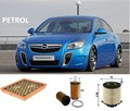 KITO102 FILTER KIT OPEL INSIGNIA   GA     2.0  2L  08/2012-  2013-  Petrol    A20NFT    OIL AIR  FUEL LUBE SERVICE KIT