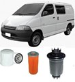 KIT9060 FILTER KIT TOYOTA HIACE  Hiace  2.4L      1996-2005 RCH12 RCH12R SWB Petrol  4Cyl  2RZE  MPFI  SOHC 8V  SBV Van OIL FUEL AIR FILTERS  FILTER