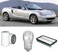 KIT9036 FILTER KIT TOYOTA MR2  - 1.8L PETROL ZZW30R MPFI - 2000-2005  OIL FUEL AIR  SERVICE LUBE SET KIT