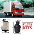 KIT3901 FILTER KIT JAC J65 J75 3.8 Litre Cummins Engine Cummins ISFe5 3.8L OIL FUEL   FILTER KIT SET FILTERS JAC 6.5 7.5 Tonne Wide Cab Cummins ISF ADR 80/03  Euro 5  MK13577