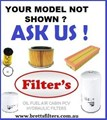 KIT10ZZ FILTER KIT TO SUIT YOUR MODEL HINO OIL AIR BY-PASS FUEL LUBE SERVICE KIT