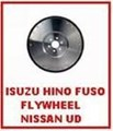 ZZZ 10985.302 FLYWHEEL FC211C 4G53 1979-1985 RECESSED FLYWHEEL MD024811 MITSUBISHI PETROL CANTER