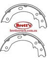 11526-FN1244 FN1244 H/BRAKE HAND BRAKE SHOE SET SHOES  Parkbrake Handbrake Shoes Nissan CIVILIAN CIVILLIAN BUS W41 BHW41 1999- TD42  36160-0T525  FBK	FN-1244 FiT	FT2148 KASHIYAMA	K1244 NISSAN	361600T525 NISSAN	36160WK125 SB	BS22244