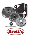 DMF2457N DMF2457  CLUTCH KIT PBR MERCEDES BENZ MB100 MB100D MB100D 10/01-05/2005 2.9L 2.9 Ltr Diesel 5 Speed OM662 MB140D 11/99-05/2005   FREE SHIPPING*  Includes Clutch Kit + OEM Style Dual Mass Flywheel R2457 R2457N BZK-7473DMF