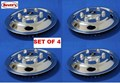 ISRTCVR15P WHEEL COVER SET OF 4 UNI INUVERSAL PUSH ON SIMULATOR SET 15