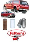 KIT8085  FILTER KIT FORD F250 SUPER CAB RM 7/2001-7/2003 2 Door Wellside 4.2L 4.2 litre DIESEL 4.2 I6 18v OHV Turbo Diesel Inj 132KW 4WD MT BRAZIL  KIT  OIL FUEL AIR FILTERS