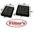 AC0184SET CABIN AIR FILTER  SET KIT OF 2  MERCEDES-BENZ CLC-Class : CLC 160 Cabin Jan 09~ 1.6 L C203 M 271.921  CLC-Class : CLC 180 Cabin May 08~ 1.8 L C203 M 271.955   CLC-Class : CLC 180 KOMPRESSOR Cabin May 08~ 1.8 L C203 M 271.946