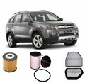 KIT2005 FILTER KIT HOLDEN CAPTIVA I 2.0L 2L DIESEL 2006-2011 2.0L KIT CONTAINS  1 X OIL FILTER   1 X AIR FILTER   1 X FUEL FILTER