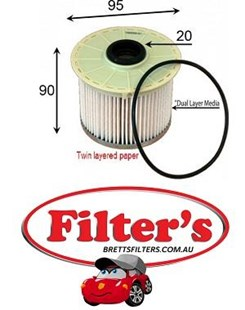 FE0025 FUEL FILTER DMAX D-MAX RODEO COLORADO 3.0L 2007-  HOLDEN ISUZU R2656P R2656  8980363210 8981499820 8-98149982-0 P506009 WCF108 FF4103