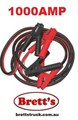 ZZZ SB1000 JUMPER LEAD SET 1000AMP 1000A WITH ANTI ZAP 6M 6 METER METRE JUMP CABLE JUMPER CABLE KIT RED BLACK 1000A 1000AMP JUMPER LEADS 1000AMP AUTO KING - Part No. BL1000AZ - Surge Protected  - Computer Safe