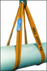 LS602 1.0MTR 3 TONNE ROUND SLING YELLOW 3 TONNE X 1 METRE LIFTING SLING ROUND WITH TAG NEW MEGA ROUND SLING
