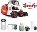 KITB004 FILTER KIT BOBCAT S160 S160H S185 T180 T190 S175 SKID STEER WITH KUBOTA V2003M  OIL FUEL AIR OUTER HYDRAULIC  HYD AT REAR BOB CAT  BOBCAT-MELROE