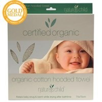 Nature's Child Organic Baby Towel with Hood