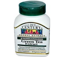 21st Century Green Tea Extract 300mg 60 Capsules