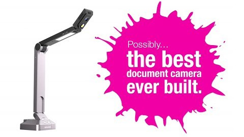 HoverCam Solo 8 - The Document Camera Designed for Easy Use with Interactive Whiteboards