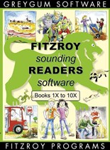 Fitzroy Sounding Readers 1X - 10X