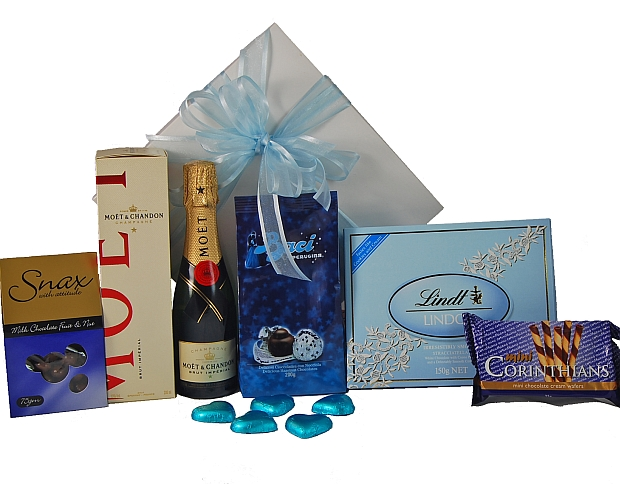 Corporate Baby Gifts Australia : Heavenly blue gift hampers australia christmas easter