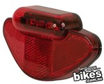 Tioga rear carrier basket light