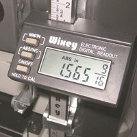 Wixey Planer Digital Readout