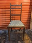 Antique c1900's Federation English Oak Bedroom Desk Chair