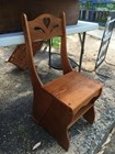 Lovely Timber Kitchen Dining Chair that converts to a Ladder