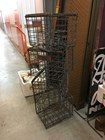 Vintage Industrial Australian Brewery Tooth & Co Galavnised Wire Bottle Crate