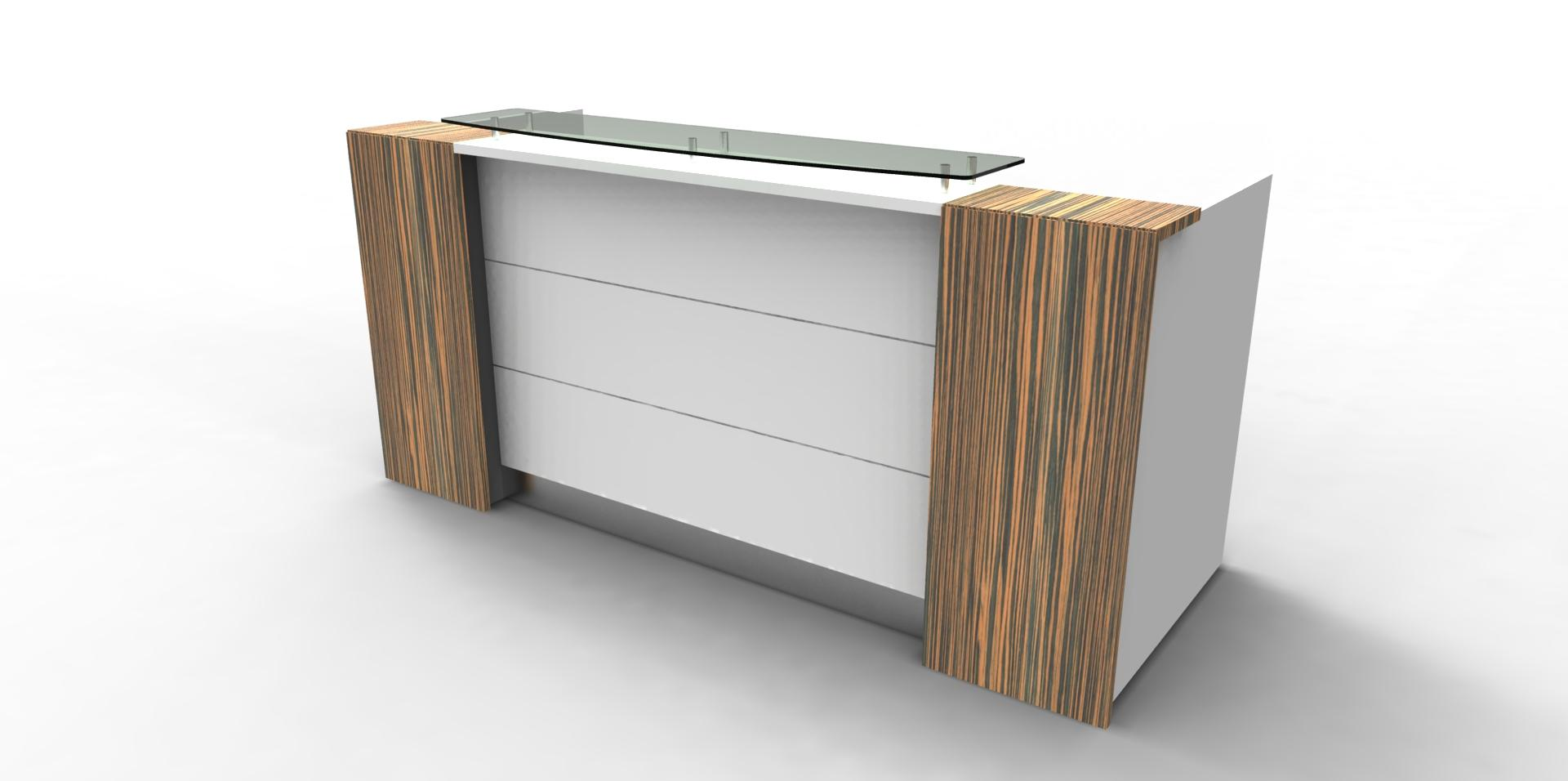 Orion Reception Desk Office Furniture Store Office