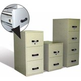 Multifile  - UL  4 Drawer 2 Hour Fire Resistant Filing Cabinet