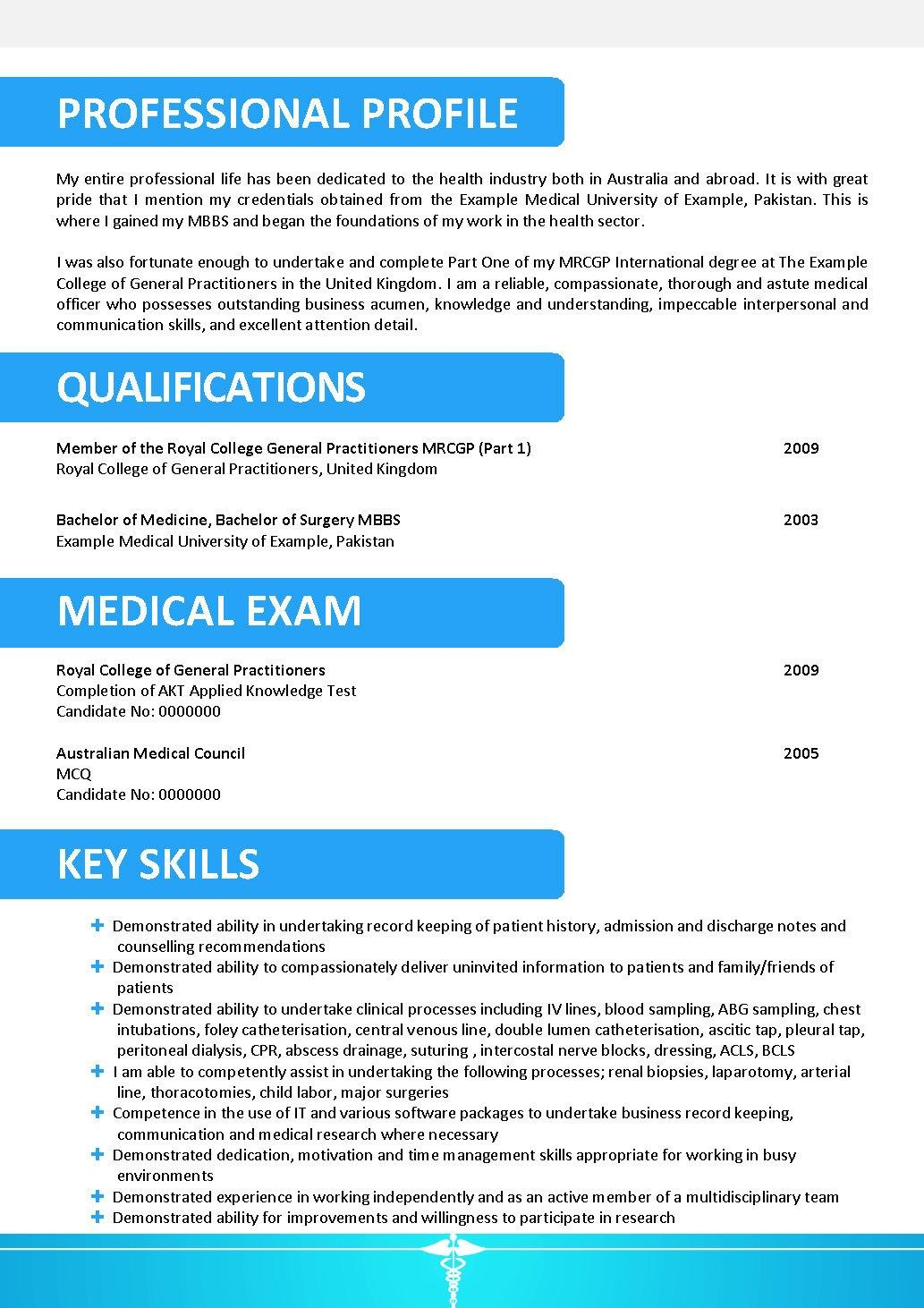 doctor resume template 143 - Doctor Resume Template