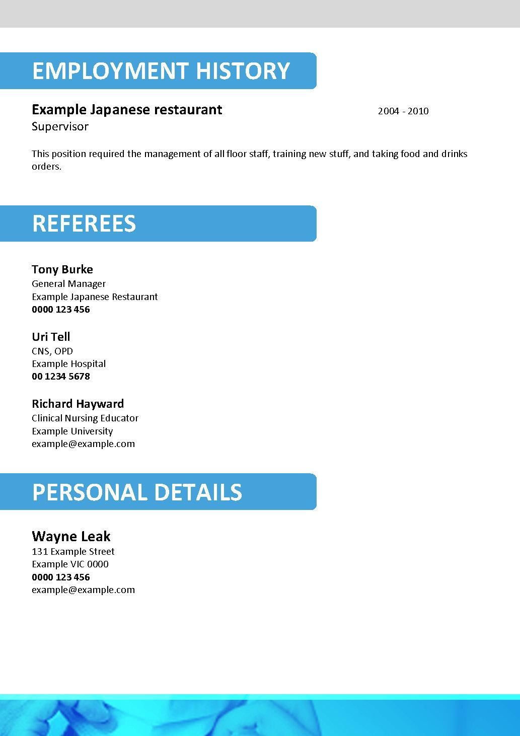 doctor resume template 072 product description - Doctor Resume Template