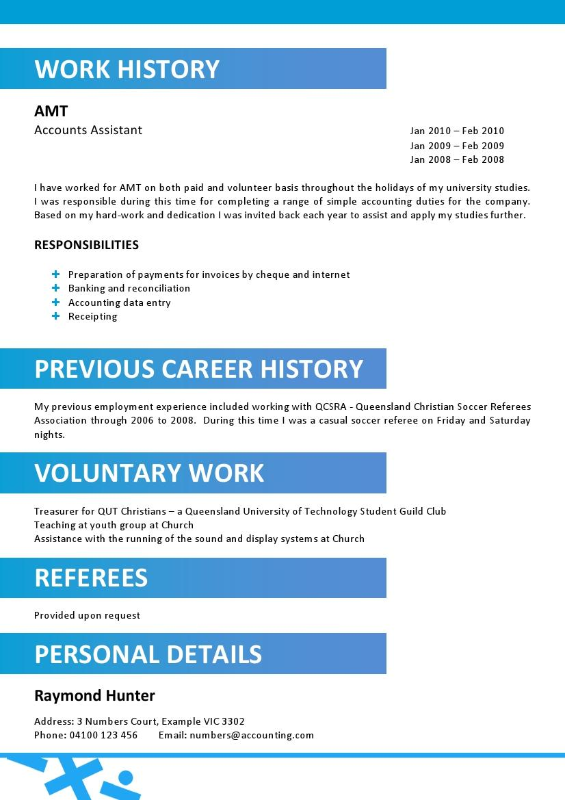accountant resume template 014