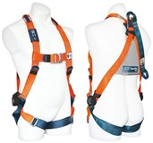 HARNES001 : SPANSET Full body harness with rear and front D.