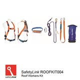 Roof Workers Kit SPANSET Roofers Kit with 30m rope line. (6001-30-0)