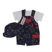 Baby Bear 3 Pieces Set - Baby Clothes