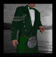 Prince Charlie Jacket and Vest - GREEN