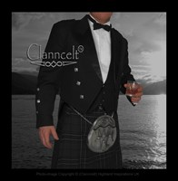 Prince Charlie Jacket and Vest - Black