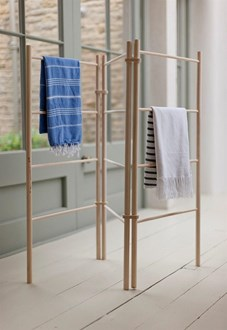 Wooden zig-zag Clothes Dryer - Clothes Airer SECONDS