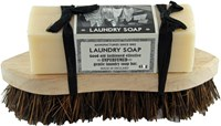 Laundry Soap and Brush
