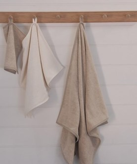 Linen Terry Bath Towels