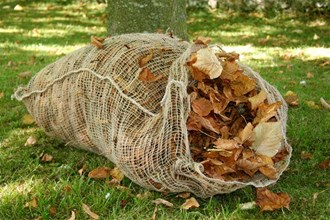 Jute leaf sacks - pair