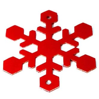 Set of 10 Italian Snowflakes