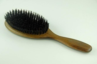 Hair Brush Beech Wood