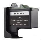 Lexmark #16 Black New Compatible cartridge