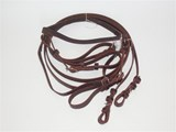 BARCOO  BRIDLE AND REINS  LEATHER