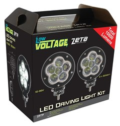 LV0133CKIT - ZETA Industrial Spec LED Driving Light Kit