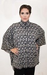 SALE - Optimum - button cape coat - final clearance