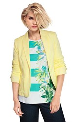 FINAL SALE - Olsen  - lemon positano blazer