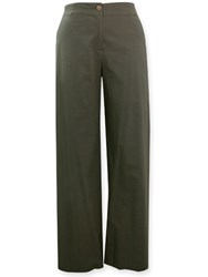 FINAL SALE - Insalata - stretch cotton linen pant